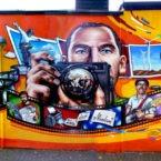Fassadengestaltung Graffiti