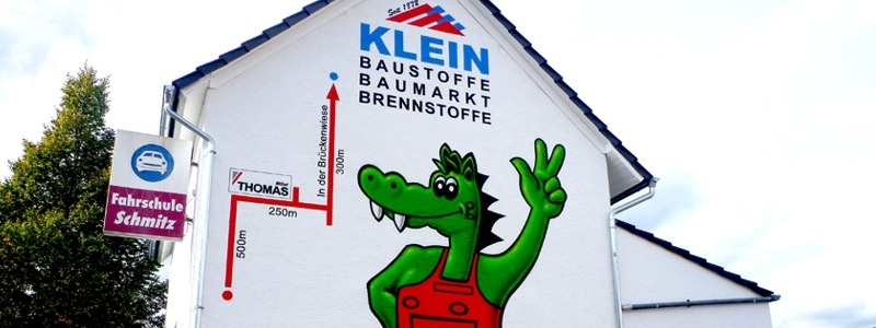 Slideshow Baustoffe Klein Krokodil 1