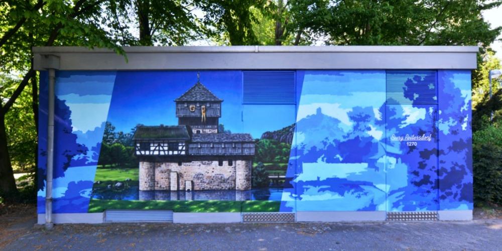 Raumgestaltung Wandmalerei