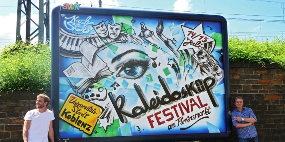 Graffitiauftrag